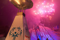 Die Special Olympics Flamme brennt in Olympic Town. (Foto: ADAC/Tom Gonsior)